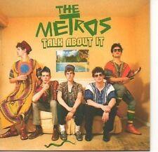 (781A) The Metros, Talk About It - DJ CD