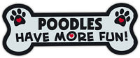 Dog Bone Shaped Magnets: Poodles Have More Fun! | Cars, Trucks, Mailboxes