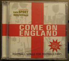 COME ON ENGLAND - CD - OVP - FUSSBALL CD