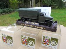 Solido militaire GMC cabine TOLEE Plateau Bache Overlord 89 Mint Box