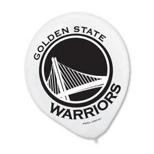 GOLDEN STATE WARRIORS NBA Helium Quality Latex Balloons 6 per pk FREE U.S. Ship