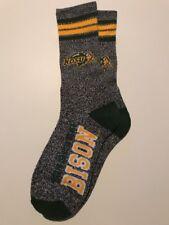 North Dakota St Bison Adult Socks- 1 Pair- Large - Brand New Free Shipping (B13)