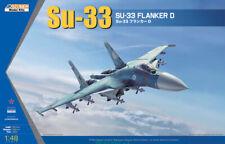 KINETIC K48062 1/48 Su-33 Flanker D Fligher Model