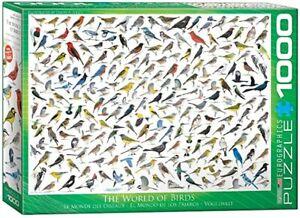 The World of Birds 1000 piece jigsaw puzzle 680mm x 480mm (pz)