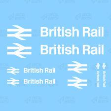 BRITISH RAIL DECALS 1/50 SCALE- WHITE INK