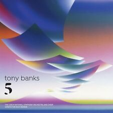 Tony Banks - Five (Preorder Out 23rd February) (NEW CD)