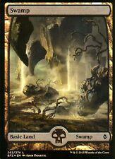 Swamp FOIL - Version 3 (Full Art) | NM/M | Battle for Zendikar | Magic MTG #262