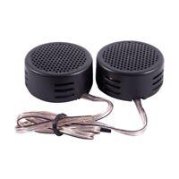 500 Watt Dome High-Tone Speaker Car Radio 2.8V, Black, 2 Pieces R7N1