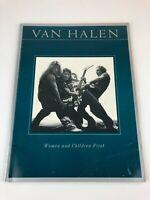 Van Halen Women and Children First Song Book Sheet Music 1980 Piano Guitar