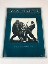 Van Halen Women and Children First Song Book Sheet Music 1980 Piano Guitar RARE