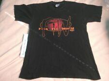 Vintage Original ECW Taz FTW Shirt Black LARGE WCW WWE TNA Tazz