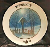 * VINTAGE ROSENTHAL CHRISTMAS COLLECTOR PLATE - WEIHNACHTEN 1928 *