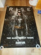THE DARK KNIGHT RISES - ORIGINAL SS ROLLED ADVANCE POSTER - CATWOMAN - 2012