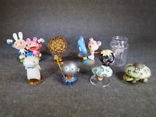 TAKASHI MURAKAMI Super Flat Museum Figure Kaikai Kiki Design Art Set of 8 JAPAN