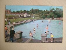 Postcard. THE PADDLING POOL, CLEETHORPES. Unused. Standard size.
