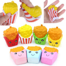 French Fries Scented Kawaii Bread   Slow Rising Stretch Anti-stress Strap*
