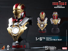 HOT TOYS IRON MAN 3 MARK 17 1/6 SCALE LIMITED EDITION BUST HTB17 NEW