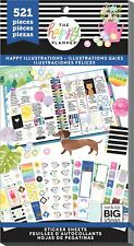 Mambi- The Happy Planner~30 pages ~Sticker Book- Happy Illustrations (Ppsv-116)