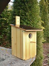 Nistkasten-Vogelhaus-Starenkasten mit Leinöl behandelt