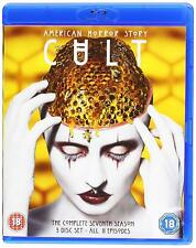 AMERICAN HORROR STORY Season 7 CULT Blu-Ray BRAND NEW Free Ship