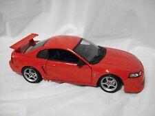 Loose 1:18 Diecast Car ~ Maisto ~ 2000 Ford Mustang SVT Cobra R ~ Red