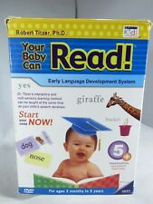 your baby can read 5 DVD set Early Language Development System free ship