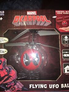 Marvel Deadpool Flying UFO Ball