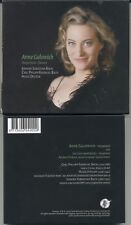 ANNE GALOWICH Harpsichord: J.S. Bach, C.P.E. Bach, Distler - Rare 2004 Turtle CD