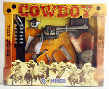 VERY RARE VINTAGE 90'S GONHER COWBOY SET 12 SHOT GUN MADE IN SPAIN NEW MISB !