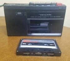 Realistic Campact Cassette Recorder Model Ctr-85 w/cassette tape Vintage Nice