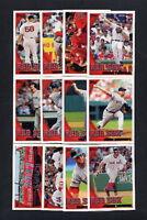 2010 Topps Boston Red Sox TEAM SET