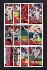 2010 Topps Baseball Boston Red Sox TEAM SET - MINT