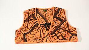 Cabelas orange safety hunting vest mens medium