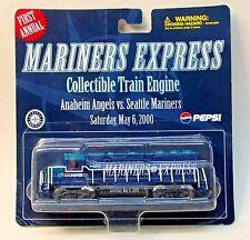 scarce 2000 Seattle MARINERS Baseball 1st Annual SGA TRAIN ENGINE mint on card