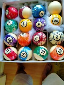 Pool Balls. Professional Collector, Unique Designed.