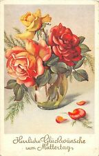 BG4792 muttertag mother day flower   germany greetings