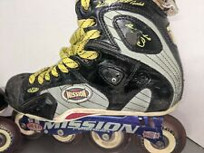 Mission Proto VS Men's 9D Roller Inline Hockey Skates Penetrator HiLo Labeda