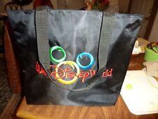 Large Walt Disney World Zippered Shoulder Bag Tote Travel Case