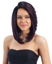 MADANI - FREETRESS EQUAL SYNTHETIC 6 INCH DEEP LACE SIDE PART WIG PERFECT BOB