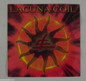 """LACUNA COIL Band Logo Promo Sticker 4"""" x 4"""" (NEW)"""
