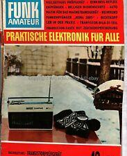 Zeitschrift FunkAmateur 1968 Ausgabe 12 (Dez.) Transistorprüfgerät