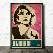 Debbie Harry Blondie Art Poster Music Punk Patti Smith Sex Pistols Ramones
