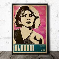 Debbie Harry Blondie arte cartel música punk Patti Smith Sex Pistols Ramones