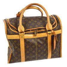 AUTHENTIC LOUIS VUITTON SAC CHIEN 40 DOG CARRIER HAND BAG MONOGRAM M42024 R11502