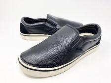 Crocs Hover Leather Slip-On Shoes Men's Size 13 Black    NEW