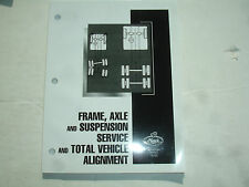 Mack Truck Frame Axle Suspension Alignment SERVICE MANUAL Repair Shop 14-103 '07