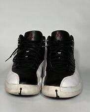 1997 Air Jordan XII 12 OG Playoff Shoes White Black 136001-061 Men's Size 14