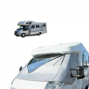 Motorhome External Thermal Cab Screen Ford Transit 2006 - 2014 Windscreen Cover