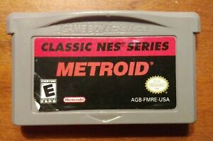 Metroid Classic NES Series - GBA Nintendo Game Boy Advance, 2004 - Tested
