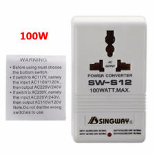 110V/120V to 220V/240V Step-Up & Down Voltage Converter 100W Transformer Travel